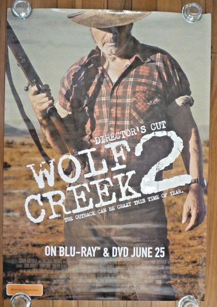WOLF CREEK 2 Original 2013 Australian BluRay/DVD One