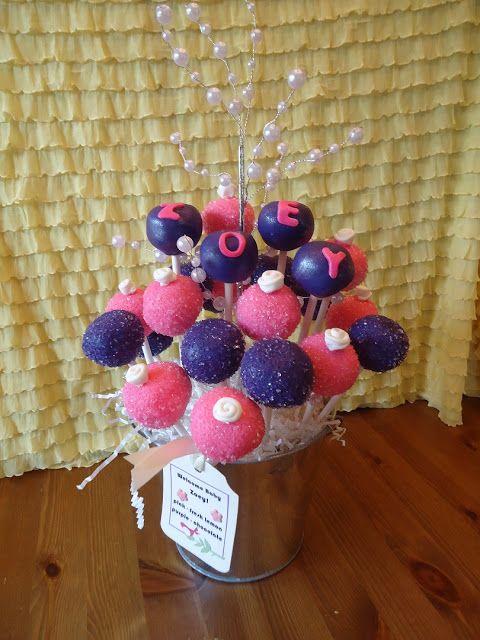 sweetpopcakeshop: cake pops