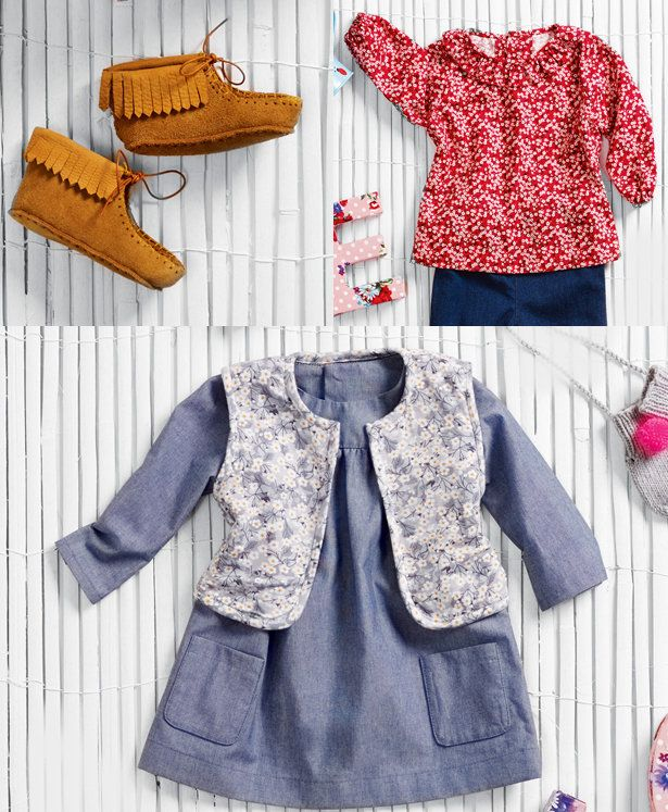 Read the article 'Cutie Pie: 10 Patterns for Hip Babies' in the BurdaStyle blog 'Daily Thread'.