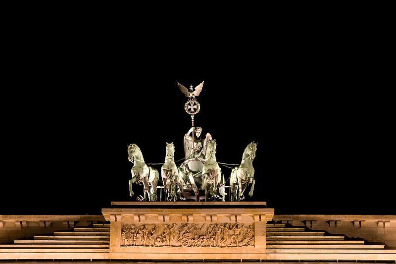 Quadriga Brandenburger Tor Berlin Trip Statue Of Liberty