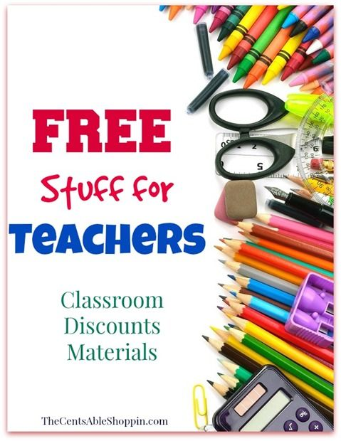 FREE Stuff for your Classroom &  HUGE list of discounts!