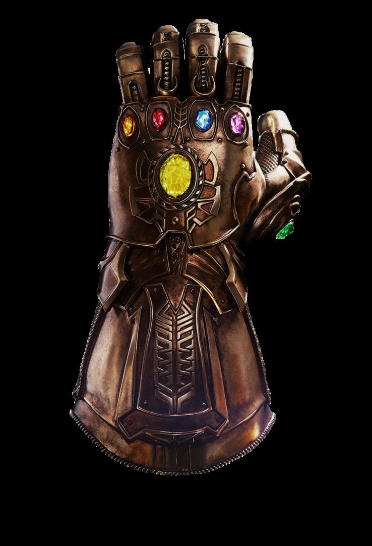 Infinity Gauntlet Transparent By Https Www Deviantart Com Camo Flauge On Deviantart Mind Stone Infinity War Replica Prop