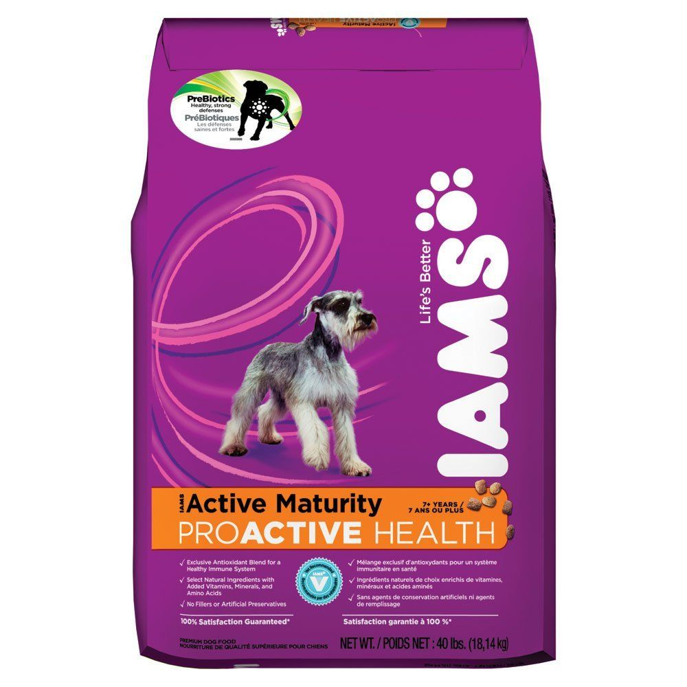 Iams Proactive Active Maturity Dry Dog Food 33 Lbs Discover