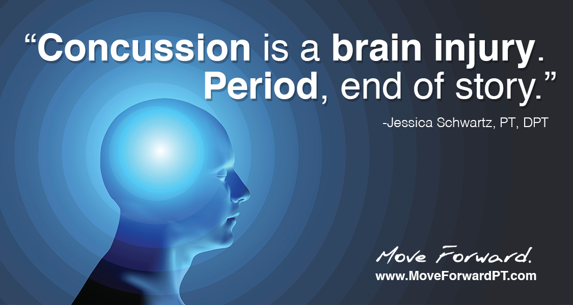 In this episode of Move Forward Radio, physical therapist Jessica Schwartz—who has also been on the patient side of the concussion experience—shares what you need to know about concussions today, and how treatment is evolving.