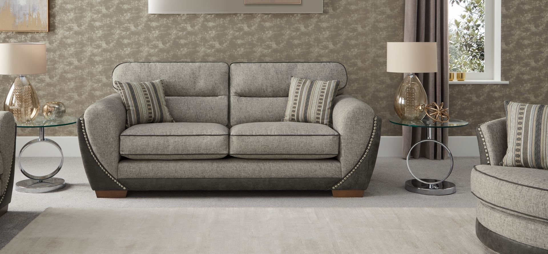Barnaby 3 Seater Sofa Standard Back Scs Sofa 3 Seater Sofa Scs Sofas