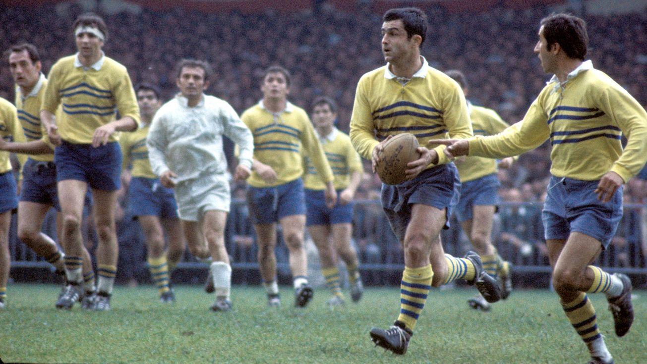 1970 Grand Favori Du Championnat Au Coup D Envoi De La Saison Montferrand Avait Atteind La Finale Mais Avait Butte Sur La Surpr Rugby Top 14 Rugby Clermont