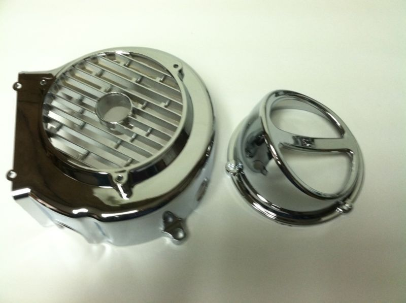 Chinese Scooter Chrome Fan Cover And Scoop GY6 150cc #scoop