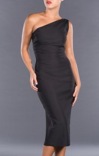 Stop Staring Bombshell AVA Black Chic VLV Pencil Wiggle Dress USA XS NWT #StopStaring #Pencil #Cocktail