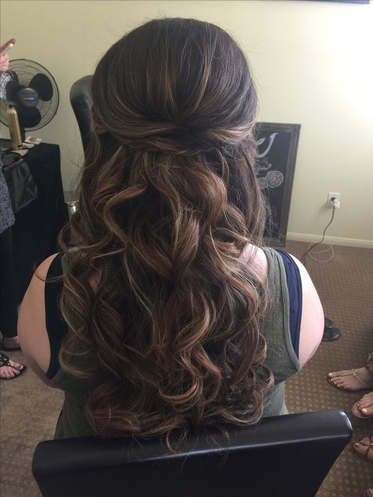 Image result for prettiest wedding hairstyles long hair for veil ...