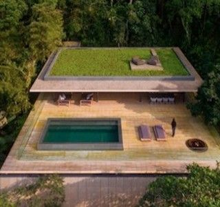 ARCHI : Brazilian jungle house !