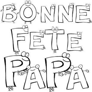 Dessin coloriage bonne fete papa kdo carte fete parents pinterest dessin coloriage bonne - Mot pour la fete des peres ...