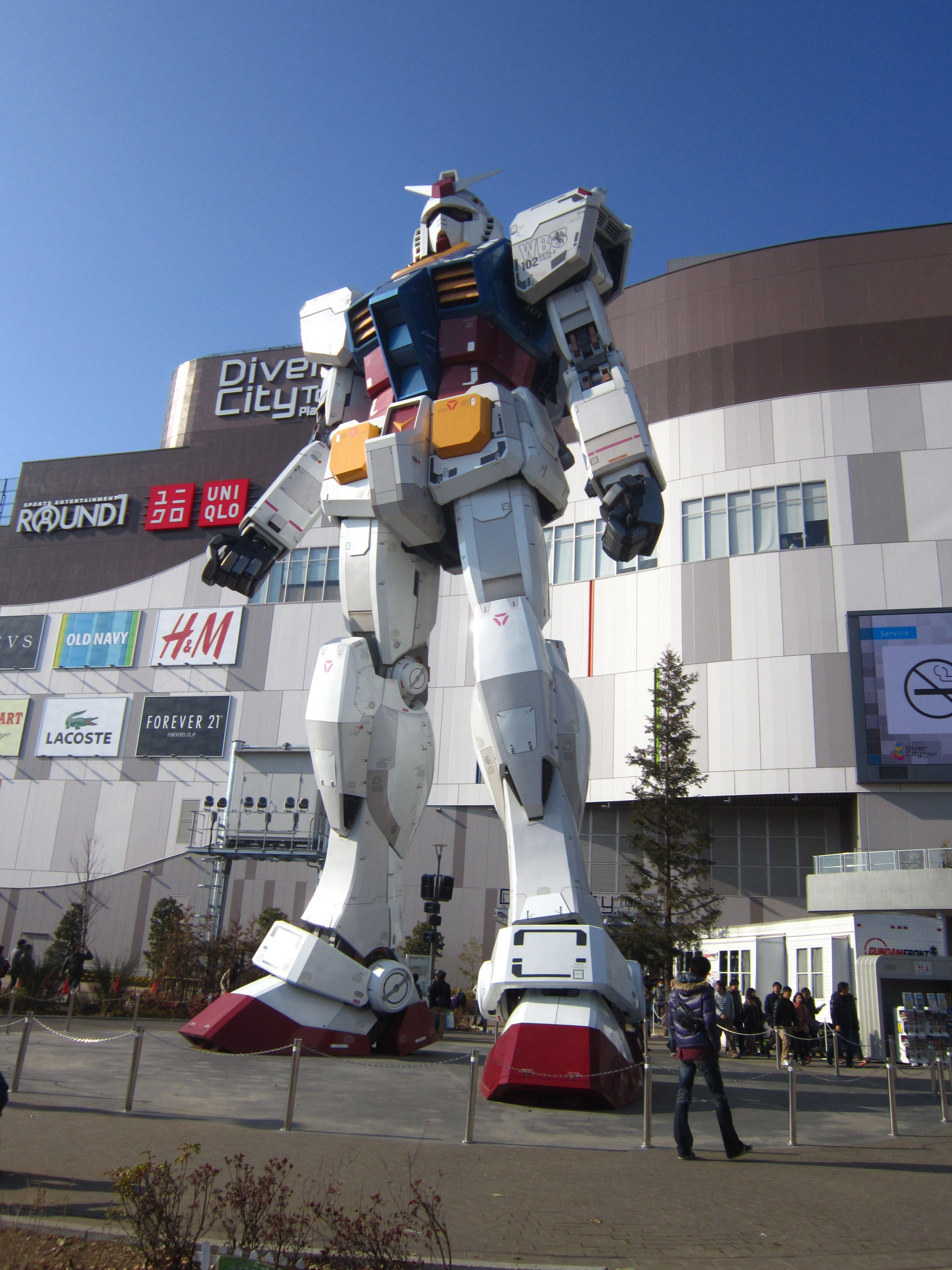 Самый большой робот в мире картинки