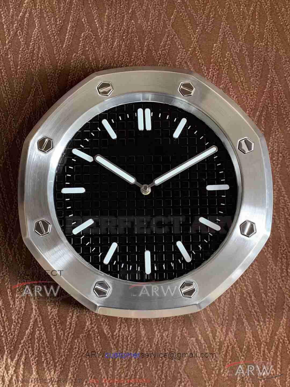Audemars Piguet Luminous Wall Clock Steel Case Black Face Audemars Piguet Piguet Audemars Piguet Price