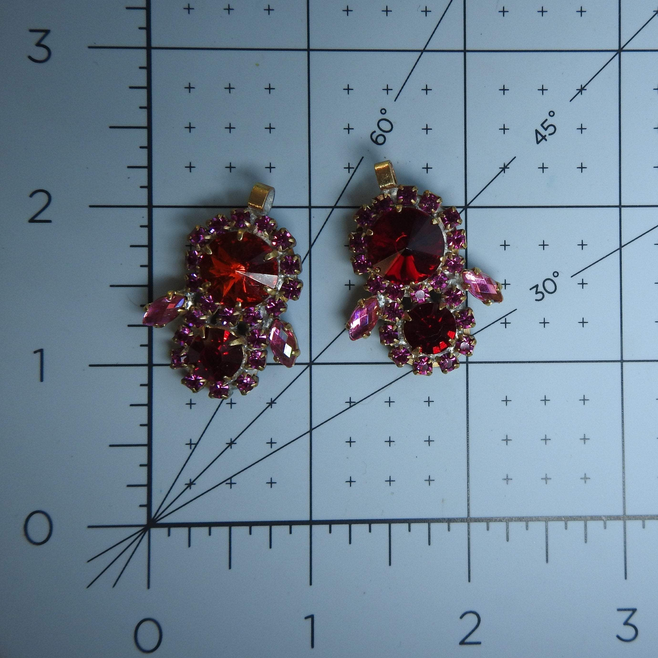 Photo of Rhinestone charms for earrings and bracelet