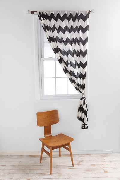 Best Zigzag Curtain Urban Outfitters Curtains Living Room 400 x 300