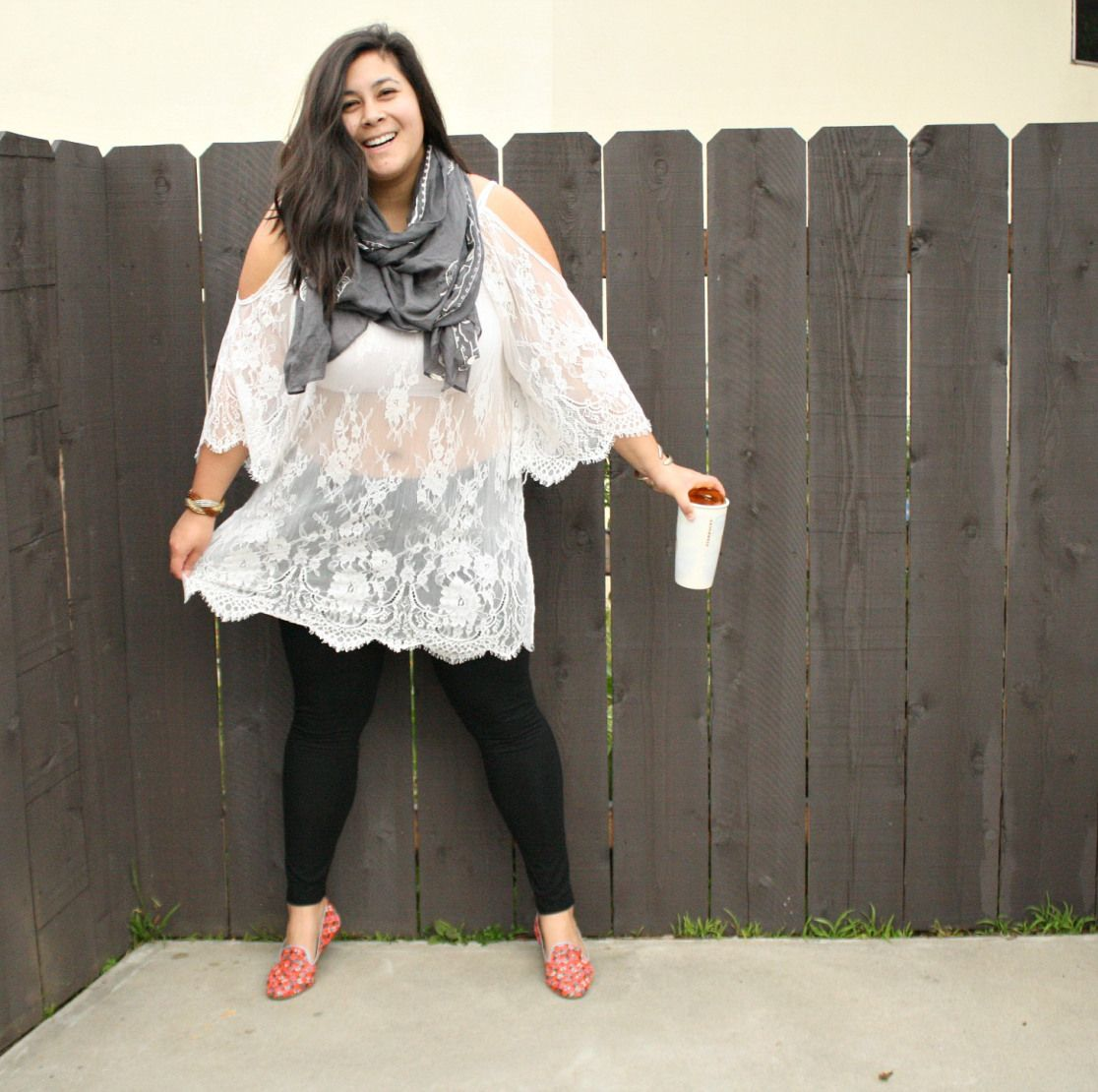 Sheer mini lace dress and leggings; OOTD   Lace dress, Bohemian ...