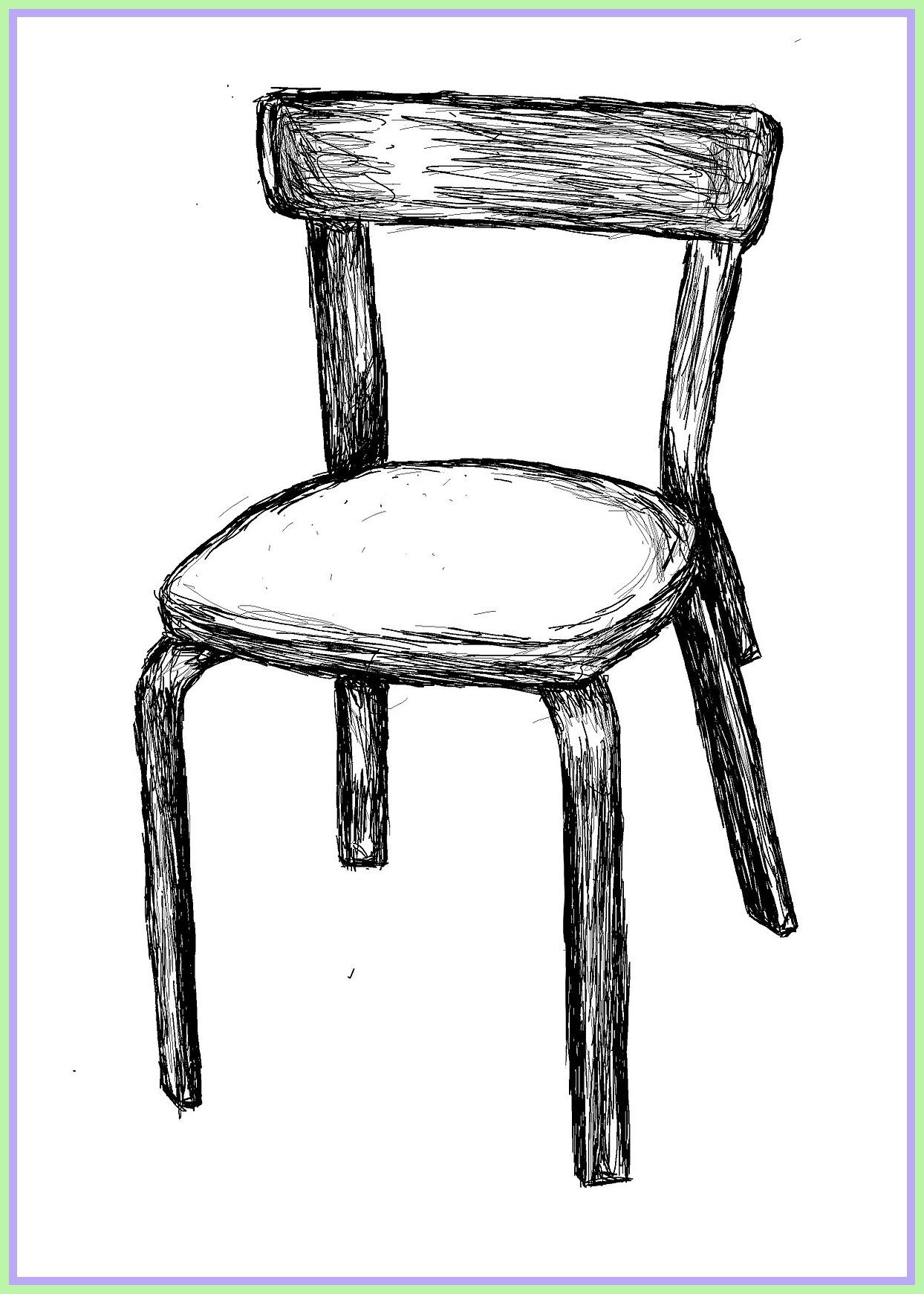 97 Reference Of Chair Black School In 2020 Chair Chair Drawing Art Chair