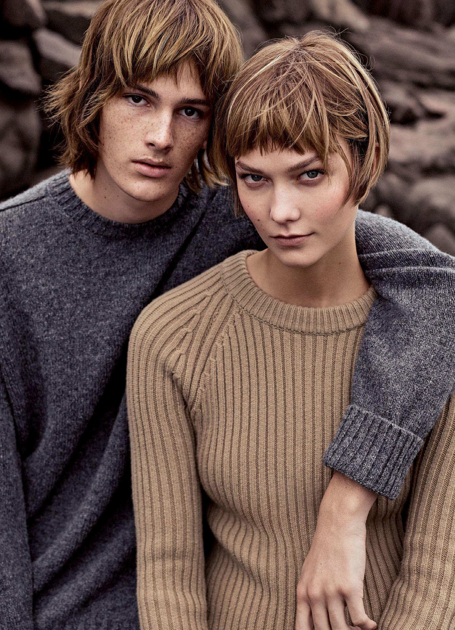 Karlie Kloss & Dylan Brosnan by Mikael Jansson for Vogue US November 2015