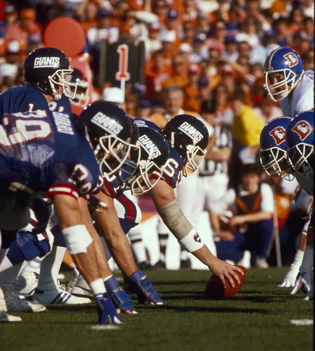 Super Bowl XXI Photos: Giants vs. Broncos Head to Head