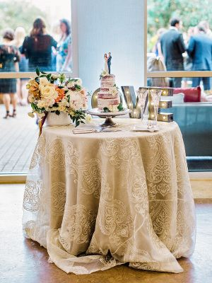 Lace Table Linen Is Perfect For Your Vintage Wedding Vintage Wedding Cake Table Lace Wedding Table Decor Wedding Table Linens