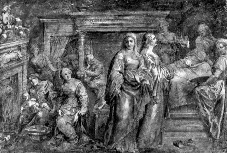 La Natividad de la Virgen María - Peter Paul Rubens