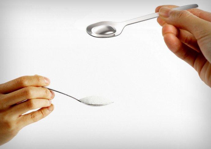 半糖健康概念的茶匙設計 | MyDesy 淘靈感