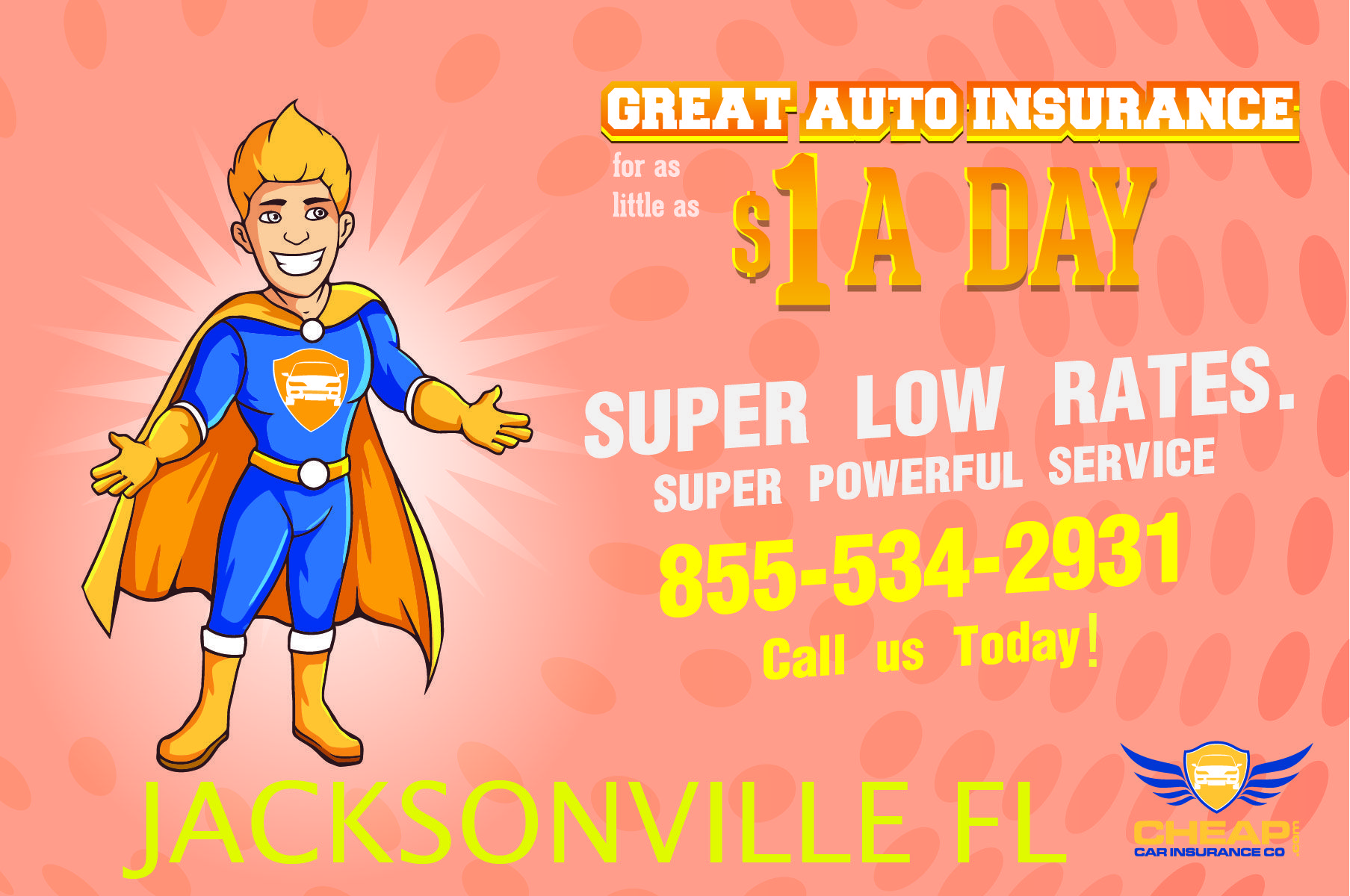 Cheap Auto Insurance Jacksonville Florida 20 Years Offering