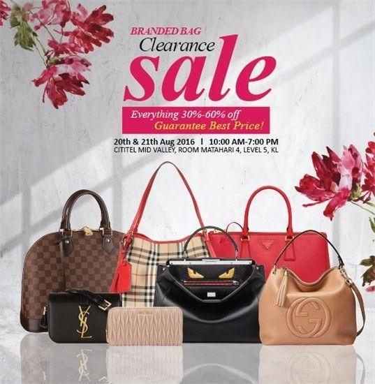 ce104ae2e661 20-21 Aug 2016  Femme Fatale Boutique Branded Bag Clearance Sale ...