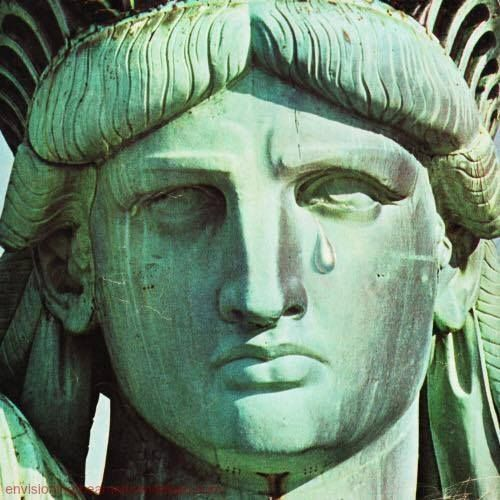 Photo Of Statue Of Liberty Crying