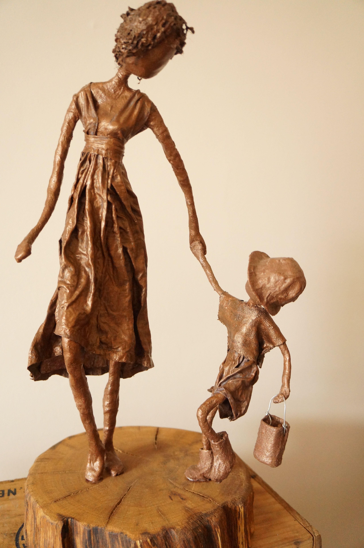 Capturing Emotional Bond Mother And Child. Tokreen Paverpol Powertex