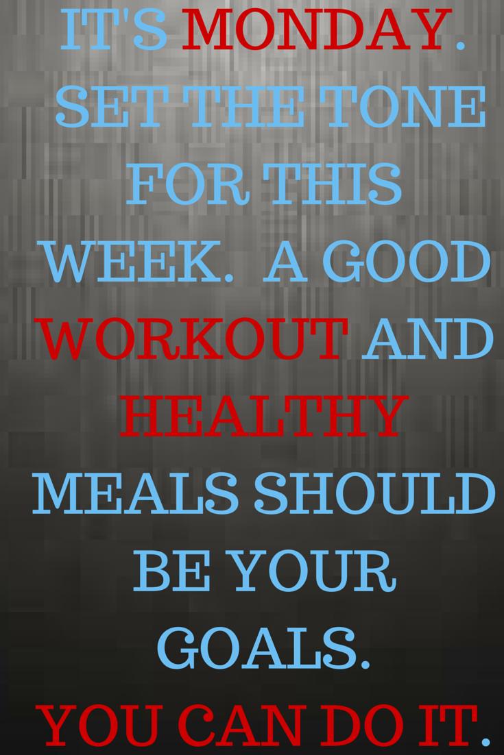 Health Fitness Monday Motivation