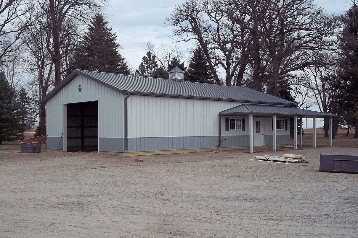 You Love Your Existing Building But It S Time To Fix That Gutter Or Replace Those Old Skylights Whatever Repairs Your Morton Building Steel Buildings Building