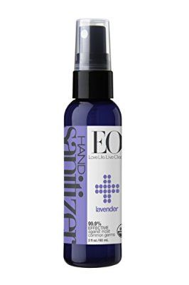 Eo Hand Sanitizer Spray Organic Lavender 2 Ounce Pack Of 2