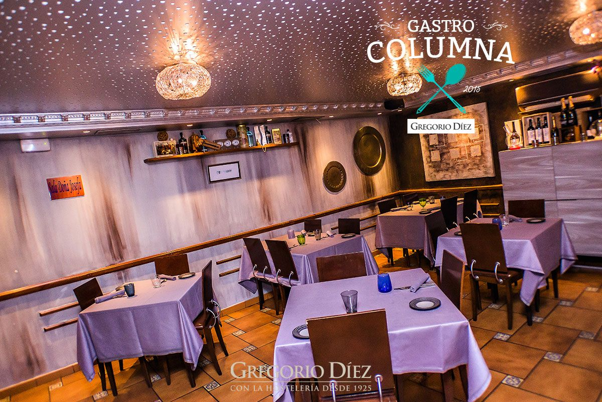 Restaurante Jero En Calle Correos 11 De Valladolid Cocinas Creativa Cocina Miniatura Columnas