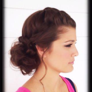 Soft Faux Hawk Braid My Hair By My Great Friend Kristin Beauty Pinterest Faux Hawk Braid Faux Hawk And Hair Style