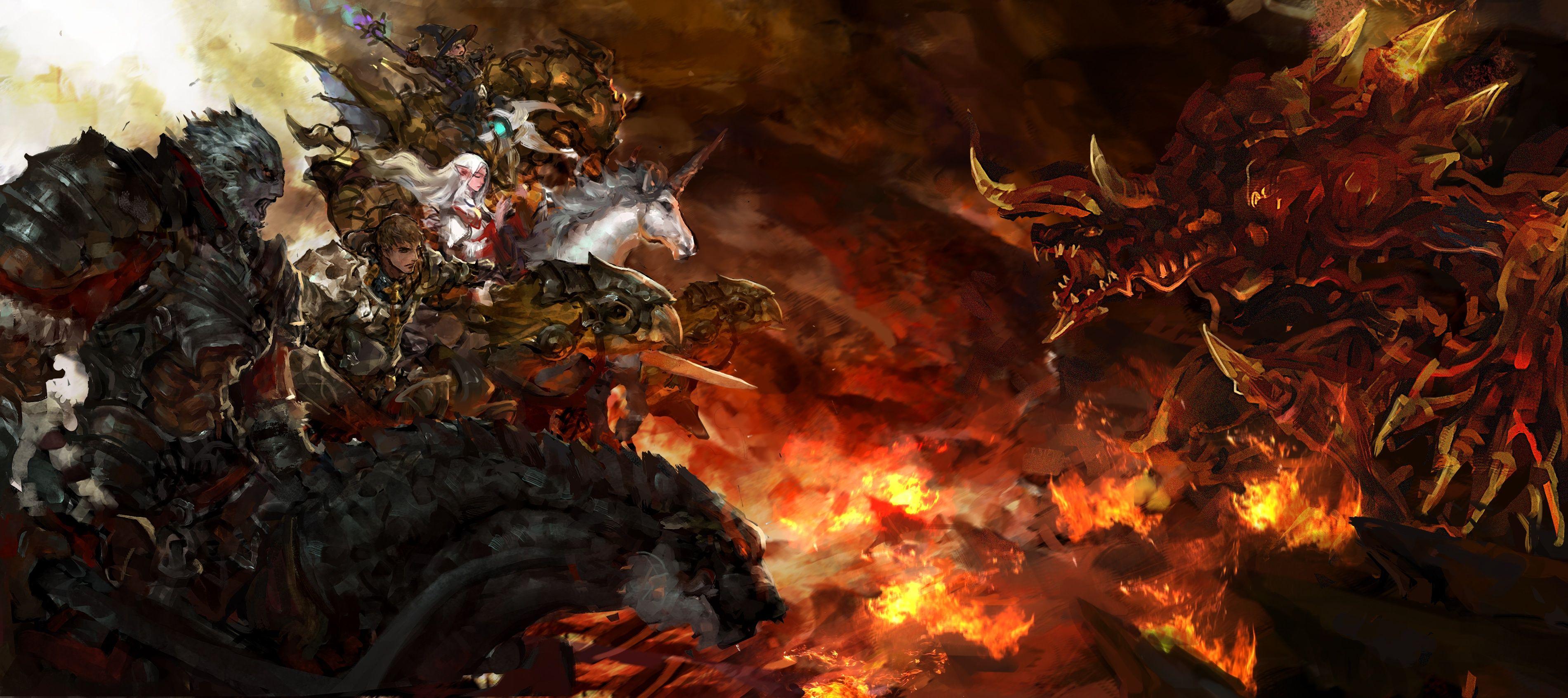 Wallpaper Wallpaper From Final Fantasy Xiv A Realm Reborn