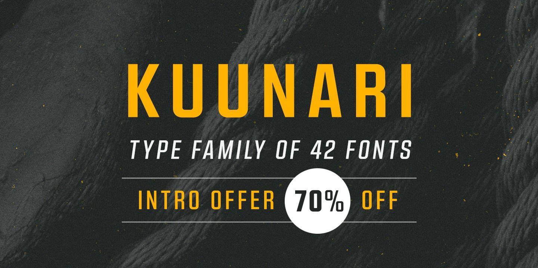 Kuunari Webfont & Desktop font « MyFonts Download