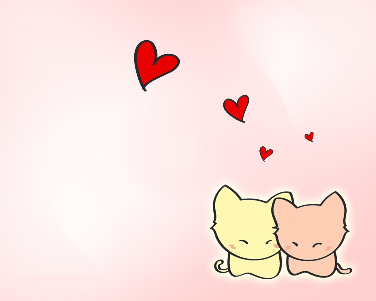 Love cute Heart Wallpaper : tumblr anime wallpaper - Google Search Desktop Wallpaper Pinterest cat love, Love heart ...