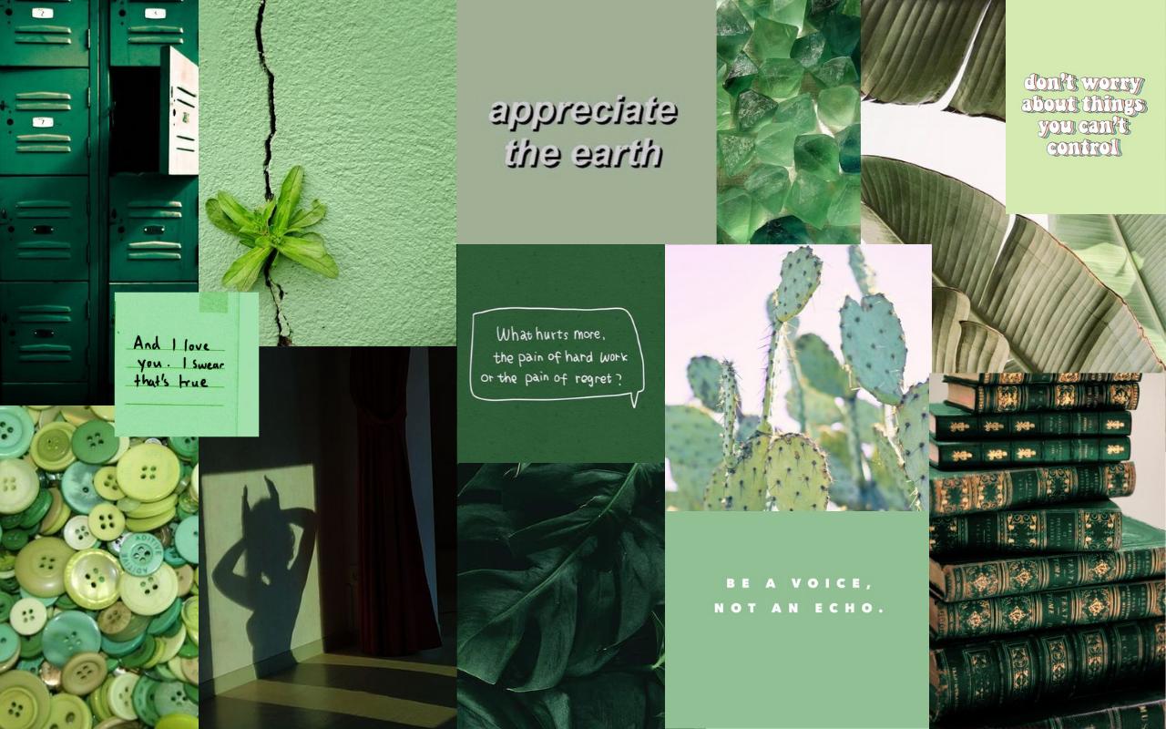 Wallpaper Green Aesthetic In 2020 Aesthetic Desktop Wallpaper Green Aesthetic Laptop Wallpaper