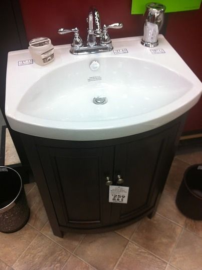 Website With Photo Gallery black vanity Space Saving BathroomBlack