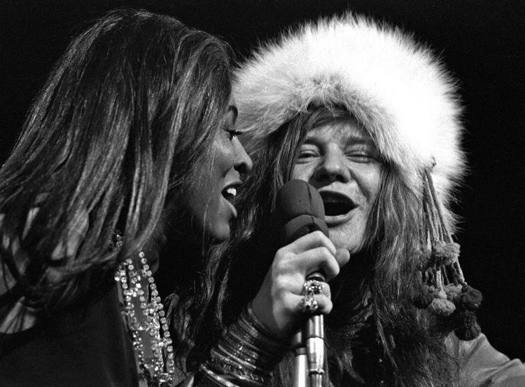 Tina Turner and Janis Joplin