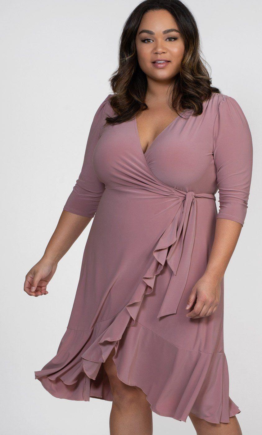 Plus Size Wrap Dress Plus Size Dresses For Spring Curvy Plus Dresses Plus Prom Dresses Maxi Wrap Dress [ 1400 x 844 Pixel ]