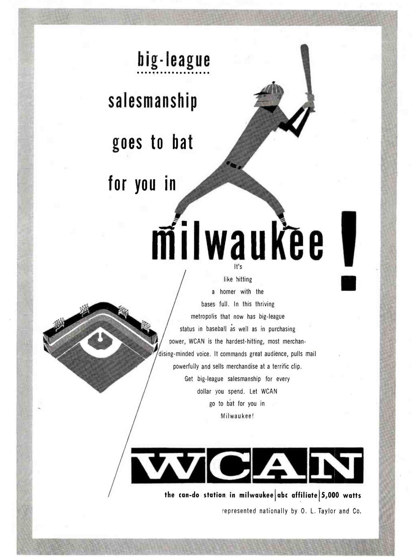 Trade Advert For Milwaukee Braves Baseball Radio Broadcasts Braves Baseball Milwaukee Vintage Baseball