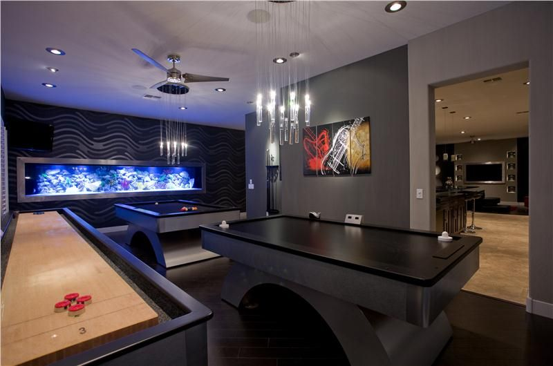 Dark Contemporary Game Room By Chris Jovanelly Man Cave Ideas Cheap Man Cave Design Best Man Caves