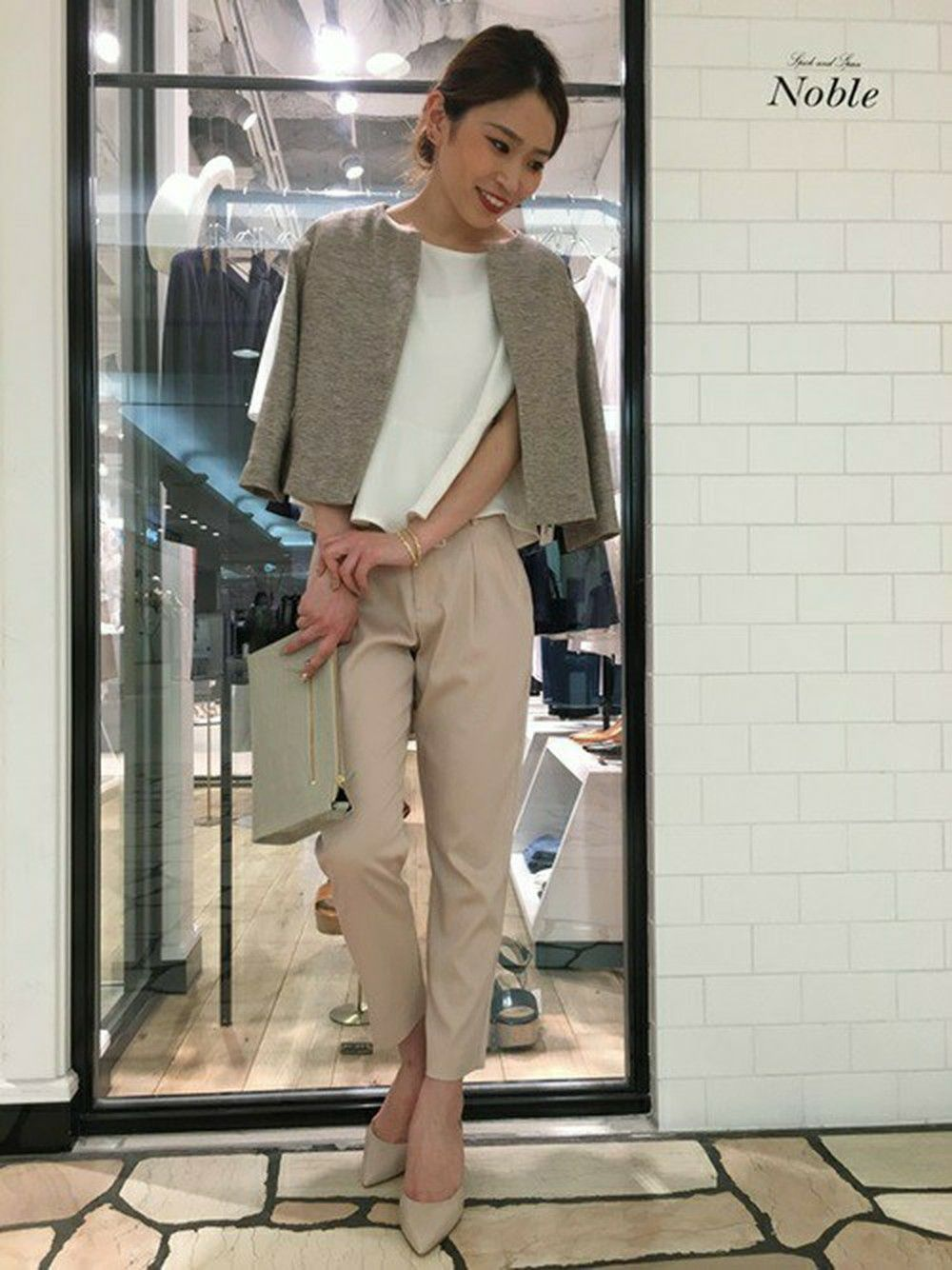 2ad90a974e3546 rika(Spick and Span Noble新宿ルミネ店)|Spick and Span Nobleのノー ...