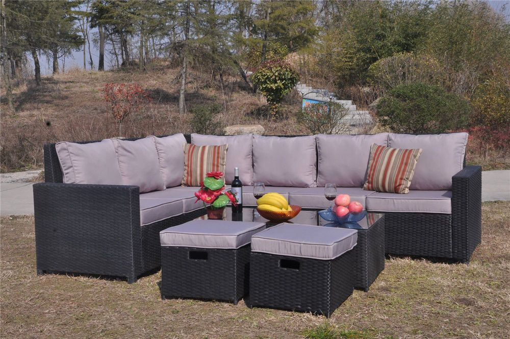 All Of Our Rattan Garden Furniture Range Is Made Of Pe Rattan And Can Be Left Outside Al Rattan Corner Sofa Corner Sofa And Coffee Table Outdoor Furniture Sets