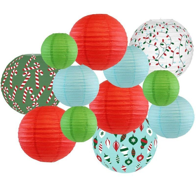 Premier Christmas Collection 2020 Christmas Paper Lanterns in 2020 | Chinese paper lanterns, Paper