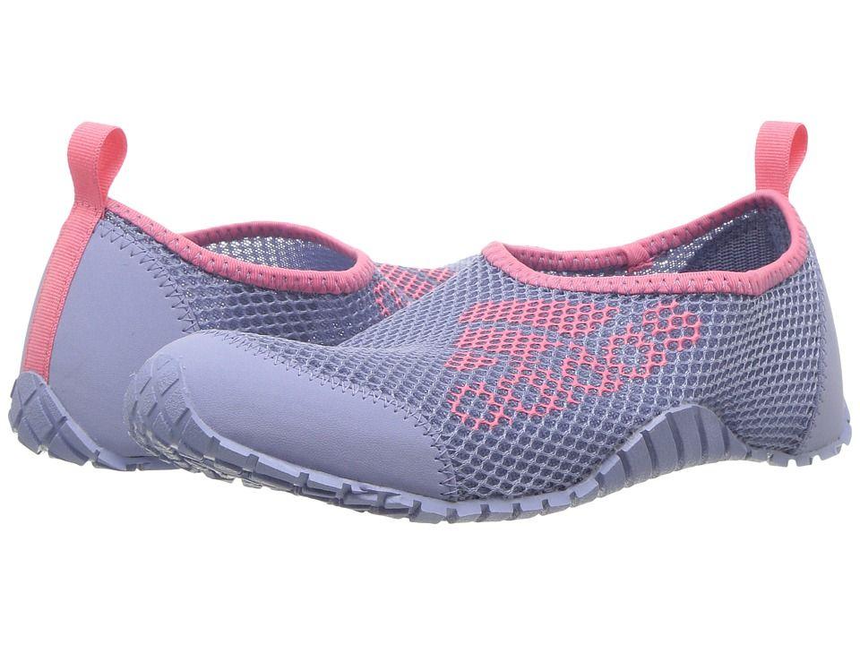 sports shoes 6ae87 11074 adidas Outdoor Kids Kurobe (ToddlerLittle KidBig Kid) Girls Shoes Chalk