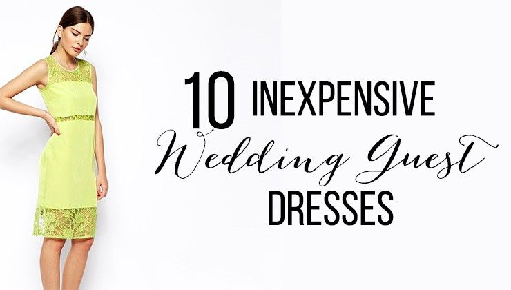 abd9163550b8 10 inexpensive wedding guest dresses - Bummed Bride All of these dresses  are UNDER  100 and