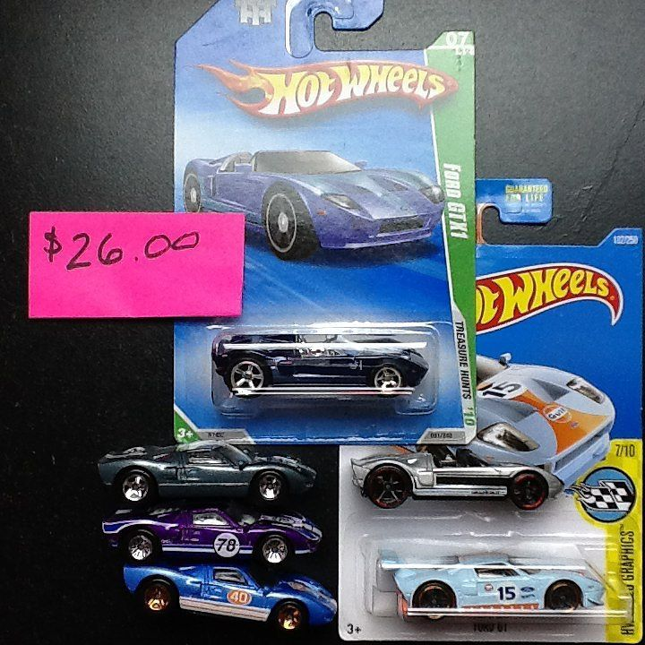 Ford GT Super included in these Hot Wheels cars Ford Gt Lot For Sale ...